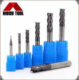Cheap Solid Carbide Extrémité carrée Mills pour les aciers