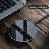 Almohadilla de carga inalámbrica Qi OEM para teléfonos móviles y iPhone 8/X
