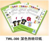 Oscuro (láser de color opaco) el papel de transferencia (TWL-300).