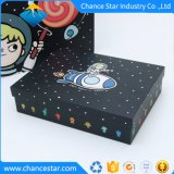 Imprimé en couleur du papier de luxe Cufflink boîte cadeau en carton