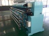 누비질 및 자수를 위한 고속 21 헤드에 의하여 전산화되는 기계