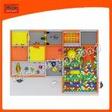 Дети весело играть крытый лабиринт мягкая игровая площадка