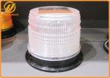 軽いセンサーこはく色の太陽磁気点滅LEDのストロボの警報灯