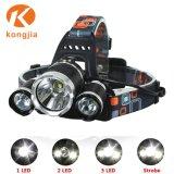 Neuer Entwurf Xml T6 LED Scheinwerfer-manueller kundenspezifischer Motorrad-Scheinwerfer