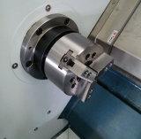 Cnc-Präzisions-vollautomatische horizontale Drehbank-Werkzeugmaschine mit Reitstock