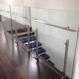 Edelstahl-Handlauf-Glasbalkon-Geländer-Glas-Balustraden
