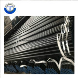 API 5L/ ASTM A106 Gr. B peint en noir Tuyau en acier au carbone sans soudure