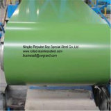 Kleur Met een laag bedekte die Staalplaat Ral9002/9006 voor Cabine, Perzische Zonneblinden, Cabana, Gekoelde Wagen wordt gebruikt