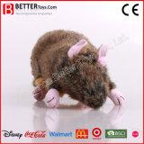 Jouet mou de souris de rat de peluche de peluche pour des gosses/enfants