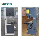 Машина ленточнопильного станка высокой эффективности деревянная вертикальная с платформой работы