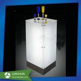 Soporte de visualización de acrílico de la botella de vino del licor del estante LED del vino del OEM Plexigalss