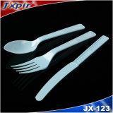 Plastic Beschikbaar Vaatwerk Cutlery& in Blauwe Kleur