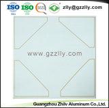Prédio de fácil de limpar Alumínio material polimérico de forro de teto