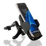 Заряжатель быстрого держателя телефона держателя автомобиля сброса воздуха беспроволочный для iPhone Samsung