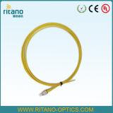 De Vlecht van de Kabel van het Flard van het Lint van de Optische Vezel van Fcupc met Losse Buis