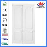 Porta deslizante de madeira moldada HDF/MDF de pano (JHK-S02)