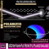 Lunettes de soleil polarisées par type neuf de Restro de pilote de la mode A002
