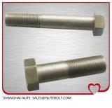 DIN931 SUS304, d'amorçage M22X70 de boulon de tête Hex de l'acier inoxydable 316 demi à M22X200