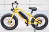 Nueva bicicleta eléctrica caliente de 2018 neumáticos gordos
