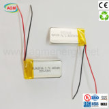Batería recargable directa del Li-Polímero de la venta Pl062036 3.7V 400mAh de la fábrica