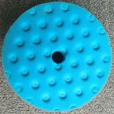 다채로운 유리 담황색의 연한 가죽 갯솜 닦는 바퀴