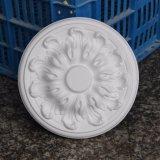 Petit médaillon Hn-051 de plafond d'unité centrale de Rose de plafond de polyuréthane