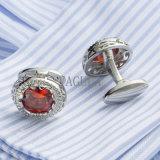 Cristal Vermelho VAGULA camisola francesa alfinetes homens jóias 398