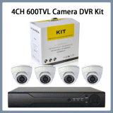 kit de la cámara DVR de 4CH 600tvl (SV60-DK04D7C60)