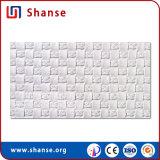 Nuevo diseño elegante mosaico de tejido blanco suave y flexible