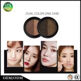 Gamas de colores fáciles de utilizar de la ceja de los colores de la oferta especial 2 con el espejo