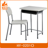 1人のためのプラスチック学校家具学生の椅子学生の机