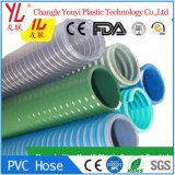 Reforçado flexíveis de PVC de água do tubo de borracha de aspiração