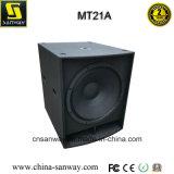 Mt21A RM1200W escogen 21 pulgadas - alto FAVORABLE rectángulo accionado de Subwoofer