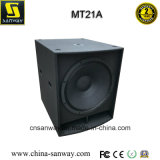 Mt21A RM1200W sondern 21 Zoll - hohen angeschaltenen PROSubwoofer Kasten aus