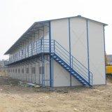 노동자를 위한 Prefabricated 가벼운 강철 구조물 임시 집
