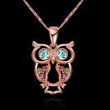 Hotsaleの女性のフクロウの女性のための吊り下げ式の方法宝石類の普及したネックレス