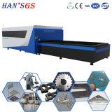 Эффективное машинное оборудование вырезывания резца & металла лазера волокна с экраном