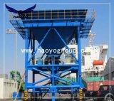 Gummireifen-beweglicher Kanal-Zufuhrbehälter
