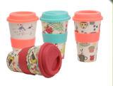 Wholesable biodegradierbare Bambusfaser-Kaffeetasse (YK-BC4103)