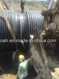 Progetto filippino del nostro grande tubo dell'HDPE della parete della struttura di formati