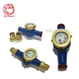 contador del agua magnético elegante seco multi del flujo de la dial de jet del 1/2 ''