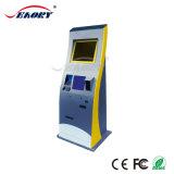 Киоск платежа наличными с системой POS и принтером получения
