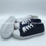 Hotsaleの女性(ZL1017-21)のための標準的なズック靴の余暇の履物の靴