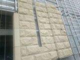 壁の正面のための中国の黄色い砂岩