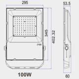 Драйвер Meanwell Nichia/Лампа Osram SMD3030 100W Светодиодный прожектор с 5 года гарантии