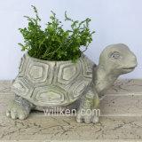 Европ и ретро цветочный горшок формы черепахи типа