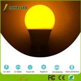 Bulbo amarillo de Not-Dimmable LED de las bombillas del fallo de funcionamiento de A15 5W E26 LED con la decoración casera de la iluminación