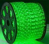 Elegantes Seil-Licht der Form-72LEDs/M flaches 3 Draht-LED für im Freienweihnachtsdekoration