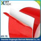 Rotes Freigabe-Zwischenlage AcrylVhb Isolierungs-Schaumgummi-Doppeltes versah Band mit Seiten