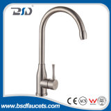 Nickel sans plomb de luxe neuf de robinet de bassin de cuisine d'acier inoxydable balayé